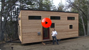 Couple Builds Own Tiny House on Wheels in 4 Month