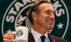 Starbucks Howaard Schultz